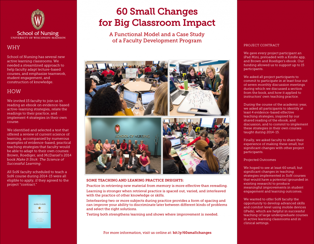 SoN Poster 60 Small Changes